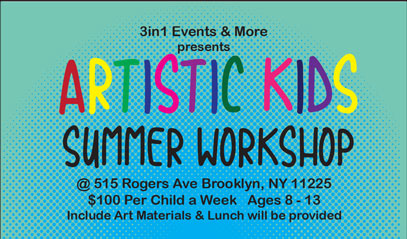 Artistic Kids Summer Works