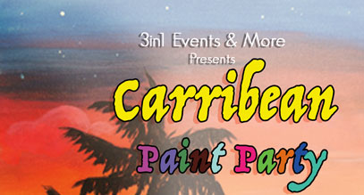 Carribean Paint Party