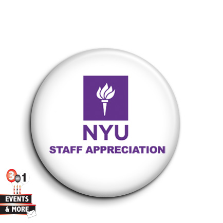 NYU Staff Appreciation Buttons