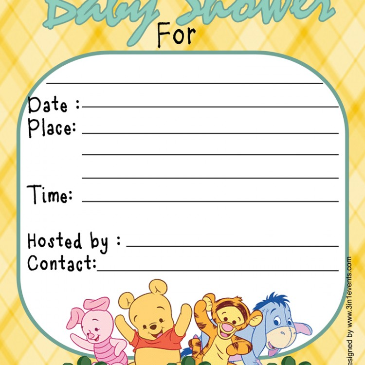 to review winnie the pooh baby shower invitation cancel reply