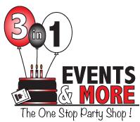 3in1 Events Logo